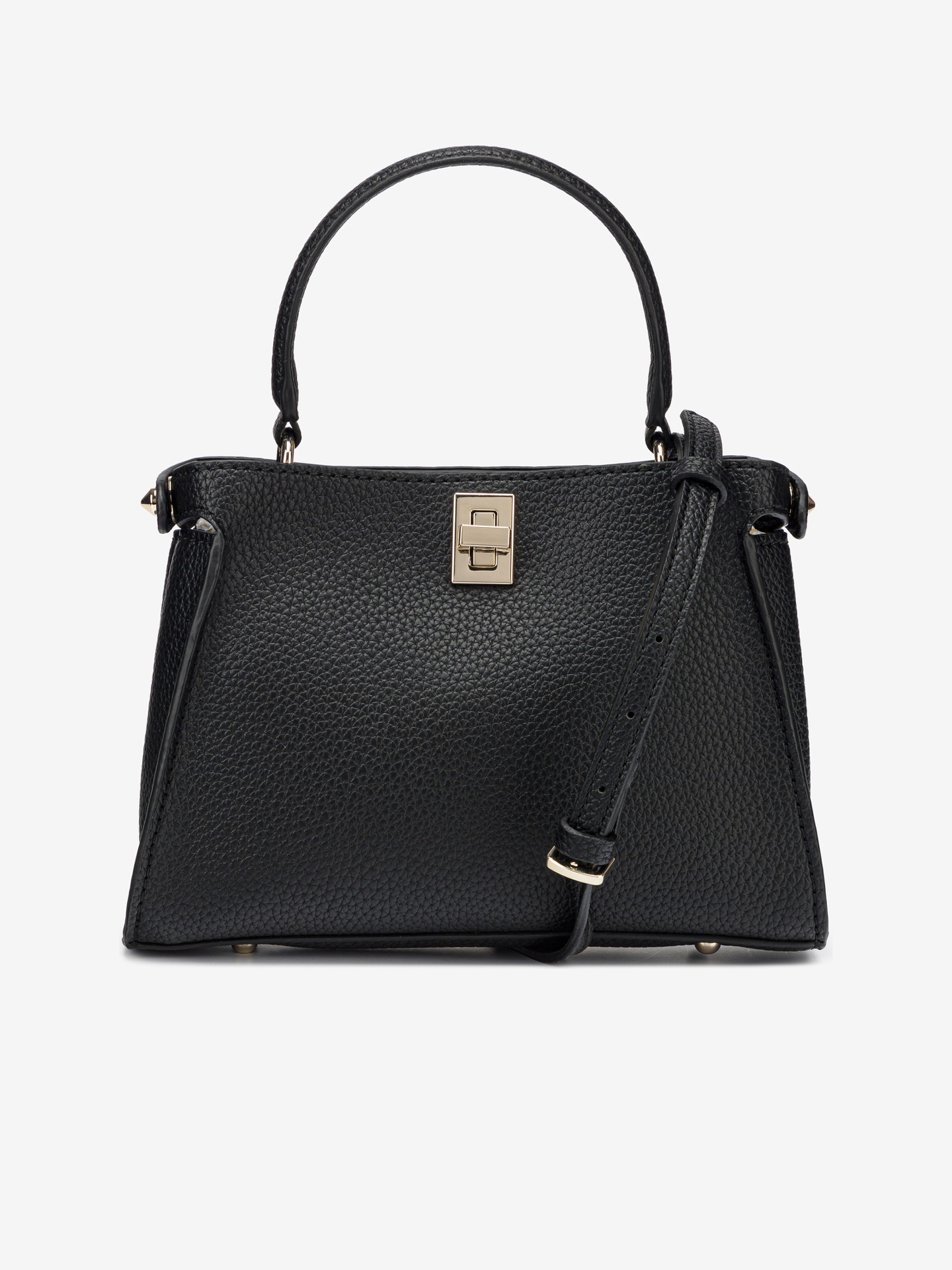 Guess crna torbica Uptown Chic Small