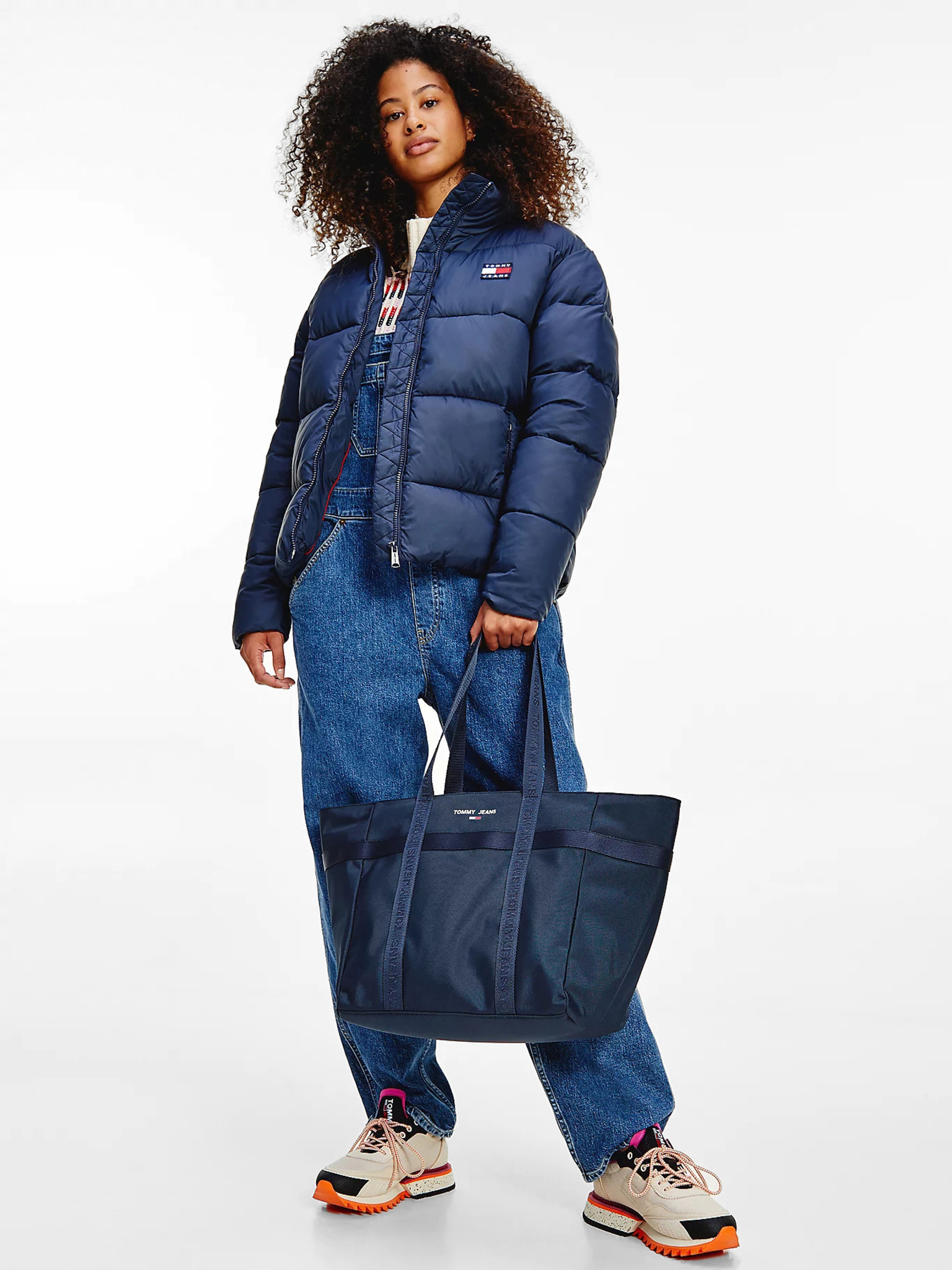 Tommy Jeans Essential torbica plava