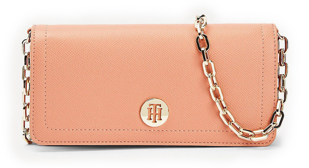 Tommy Hilfiger mala torbica Honey Mini Crossover Clay Pink