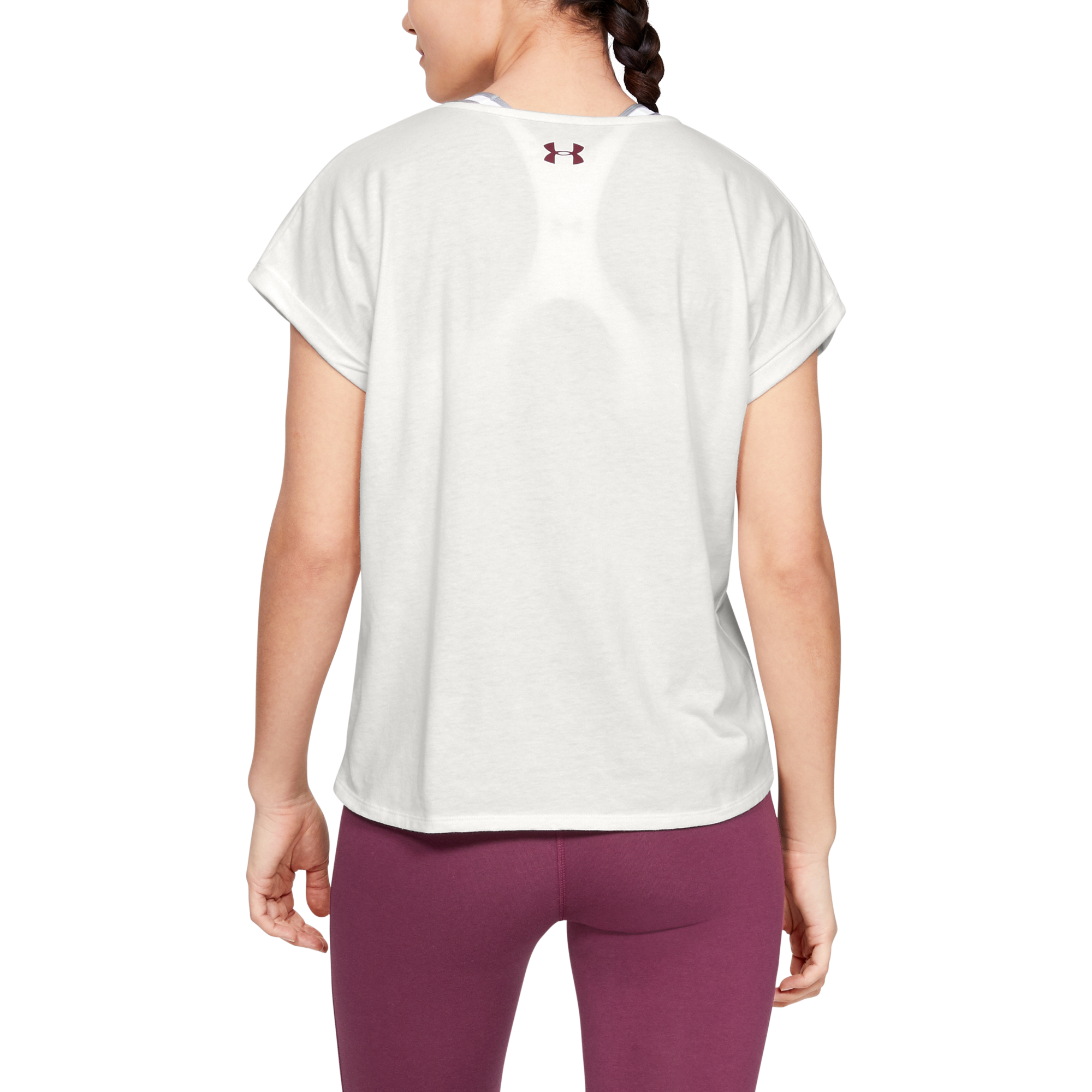 Majica Under Armour GRAPHIC ENTWINED FASHION SSC-WHT