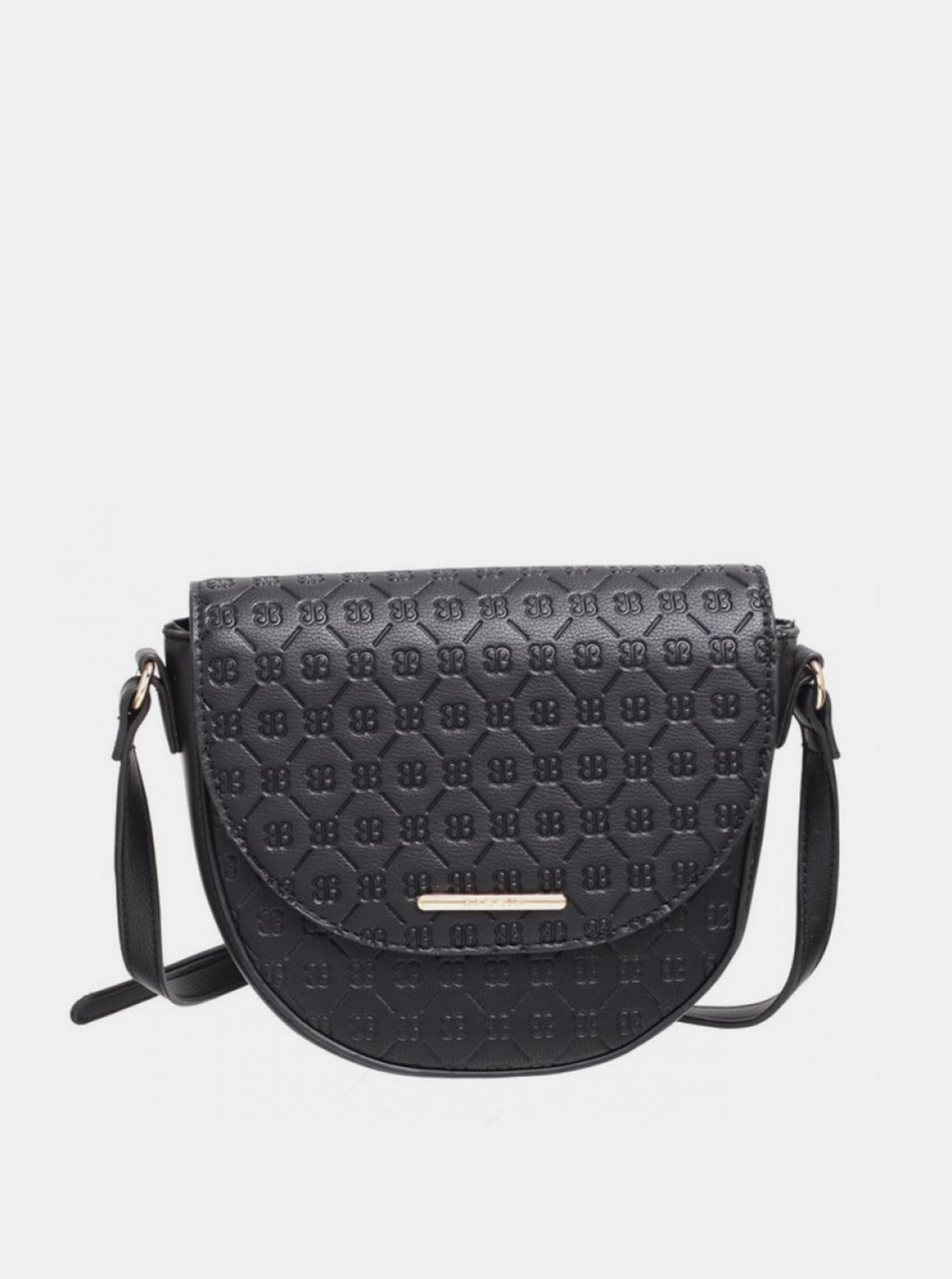 Crna torbica Crossbody Bessie London