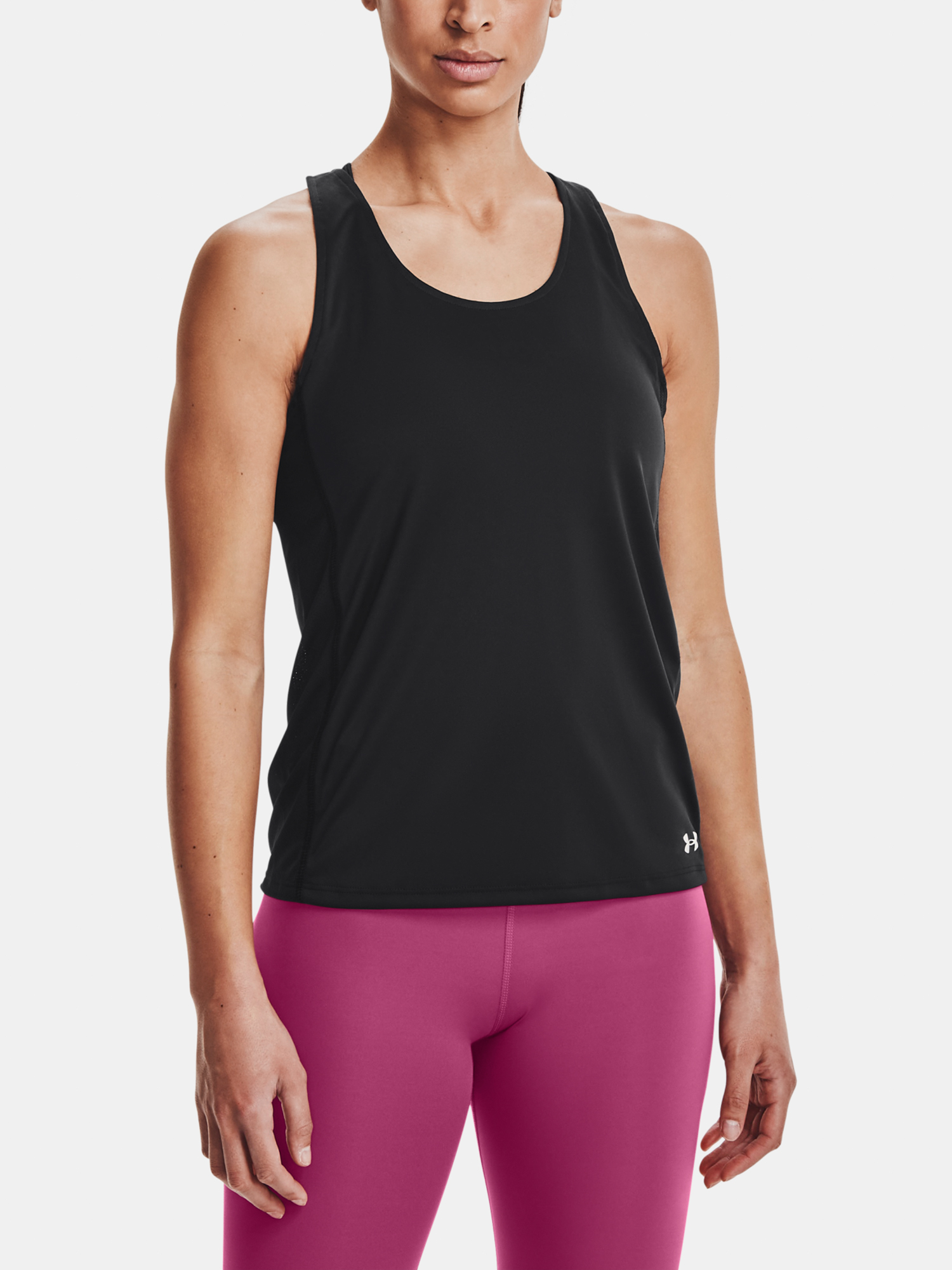 Top Under Armour UA Fly By Tank-BLK