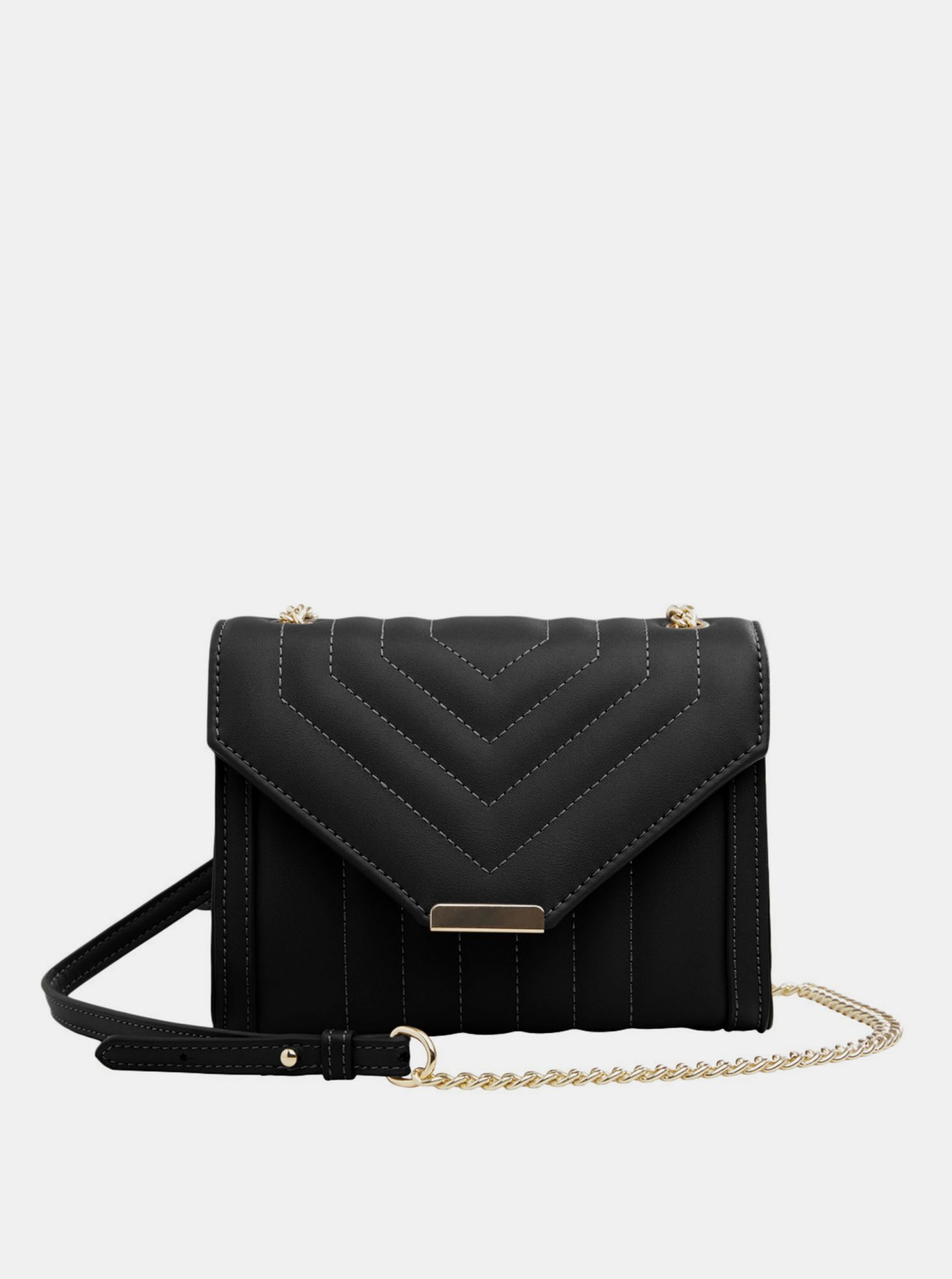 .OBJECT crna crossbody torbica