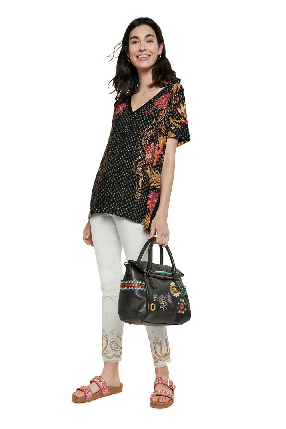 Desigual torbica Bols Carlina Loverty