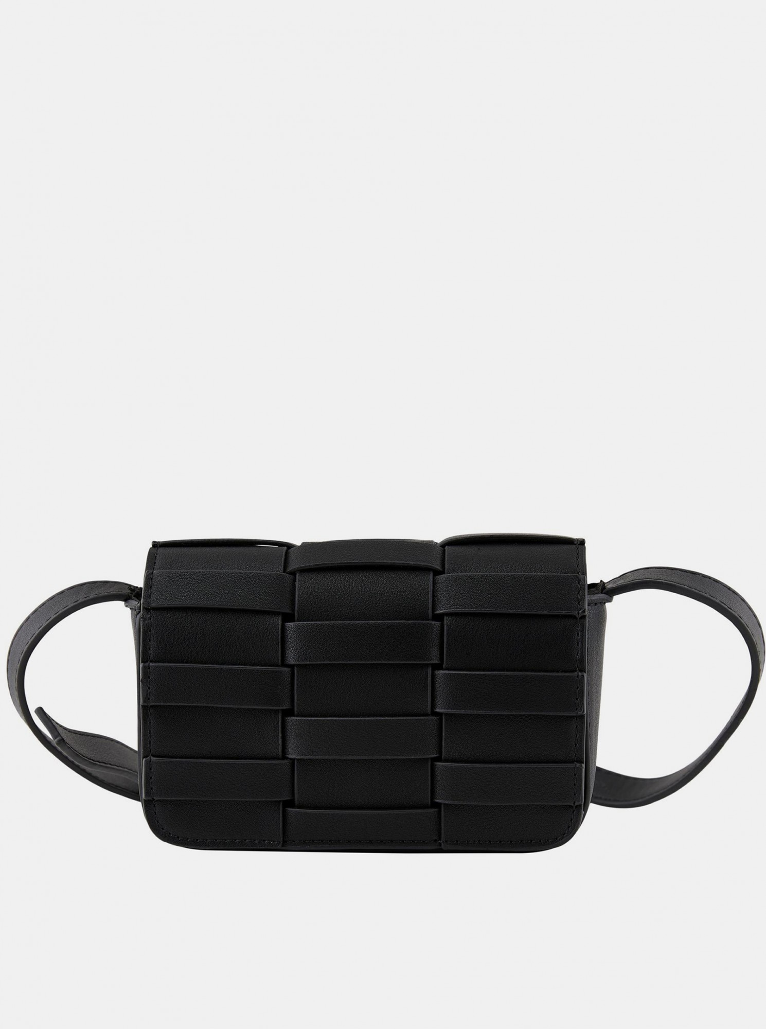 Pieces crna crossbody torbica
