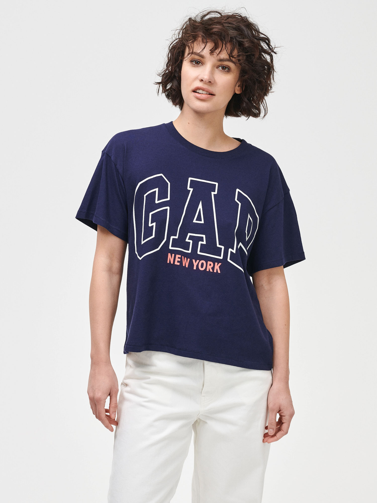 GAP plava majica New York